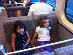 Paseando en el Tren Urbano