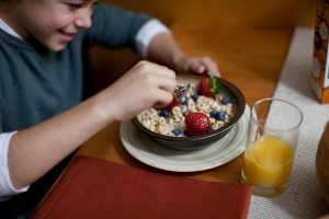 Desayuno de cereal General Mills