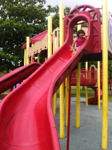 Parque en el Ultimo Trolley en Ocean Park