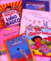 Variedad de libros y cuentos para leer con los nenes